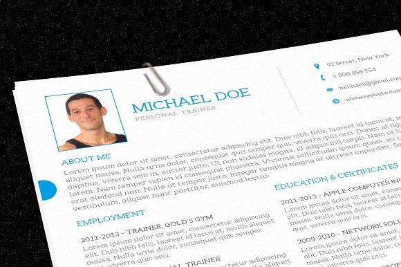 Personal Trainer Resume Personal trainer, Trainers and Cover - personal training resume