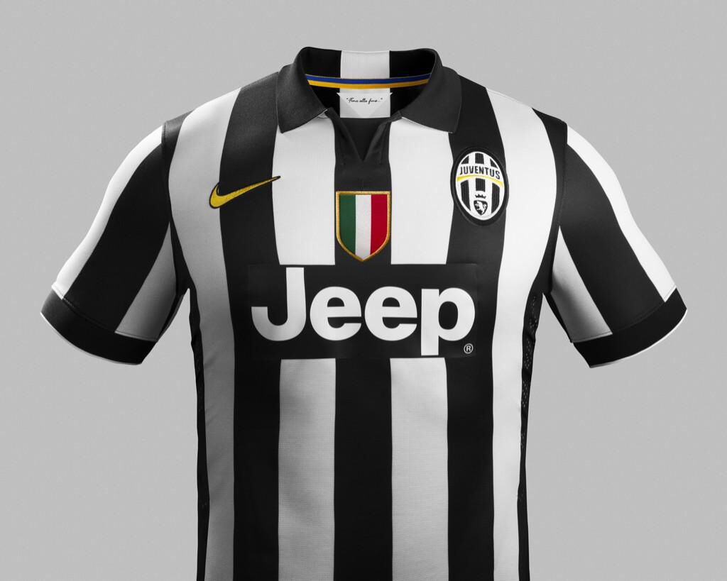 5bc3e03a5 The Juventus 14 15 Home Jersey