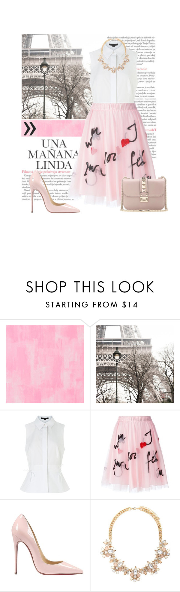 """●Una Mañana Linda●"" by nxtmoon ❤ liked on Polyvore featuring Designers Guild, Alexander Wang, P.A.R.O.S.H., Christian Louboutin, Forever 21, Valentino, women's clothing, women's fashion, women and female"