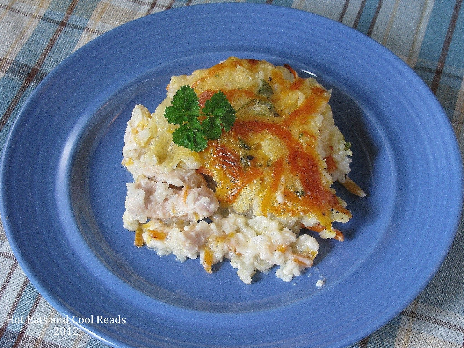 Hot Eats and Cool Reads: Chicken and Rice Casserole Recipe From Scratch (No Cream Soup!!)