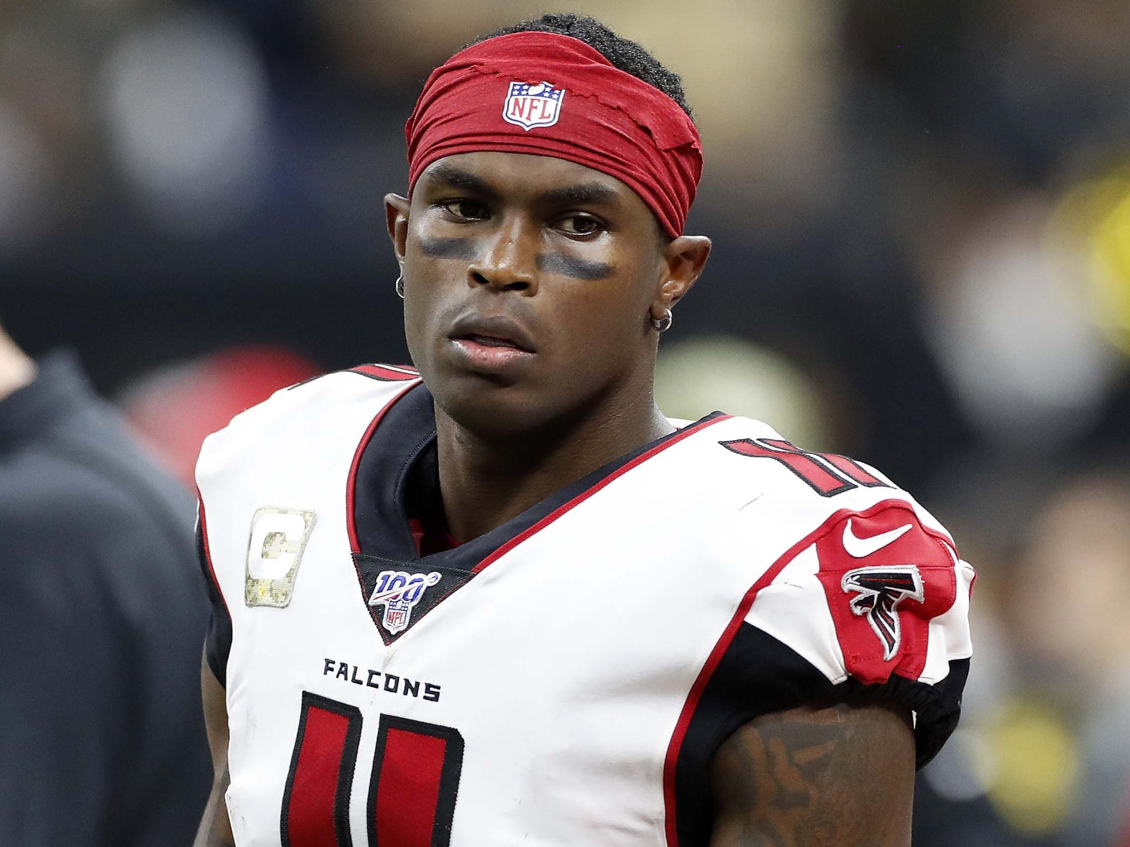 Injuries Julio Jones Inactive For Falcons Vs Saints National Football League News The Falcons Announced National Football National Football League Nfl News