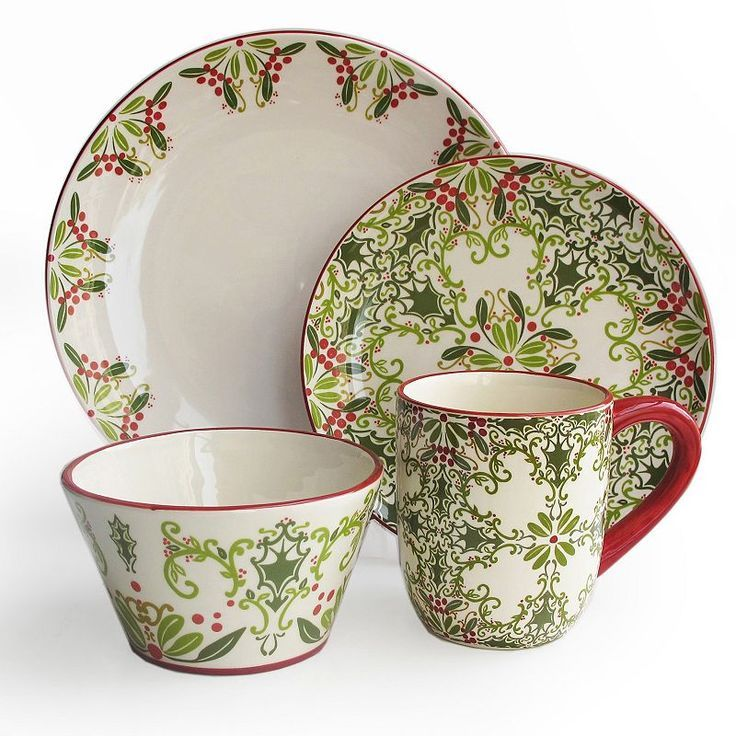 American Atelier Bargello 16 Piece Holiday Round Dinnerware Set By American Atelier  sc 1 st  Pinterest & Pin by Eszter Molnár on Christmas | Pinterest | Teapot Xmas and Trays