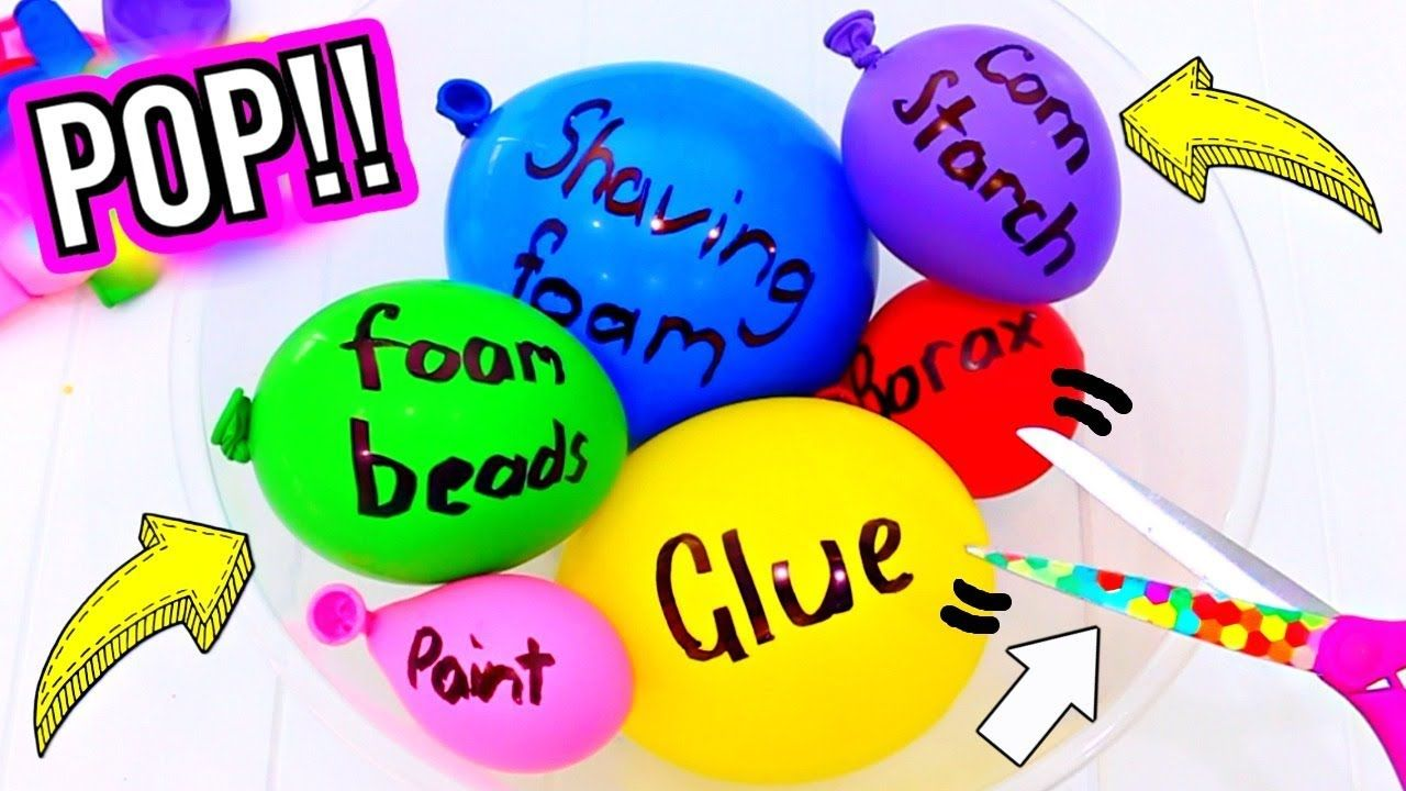 Diy balloon popping slime how to make popular balloon slime how to make popular balloon slime gillian bowermaking ccuart Image collections
