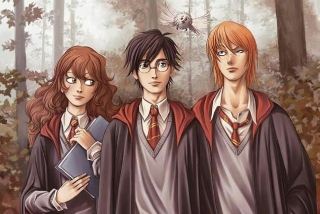 Harry potter threesome fan ifction, sexy sex vidio