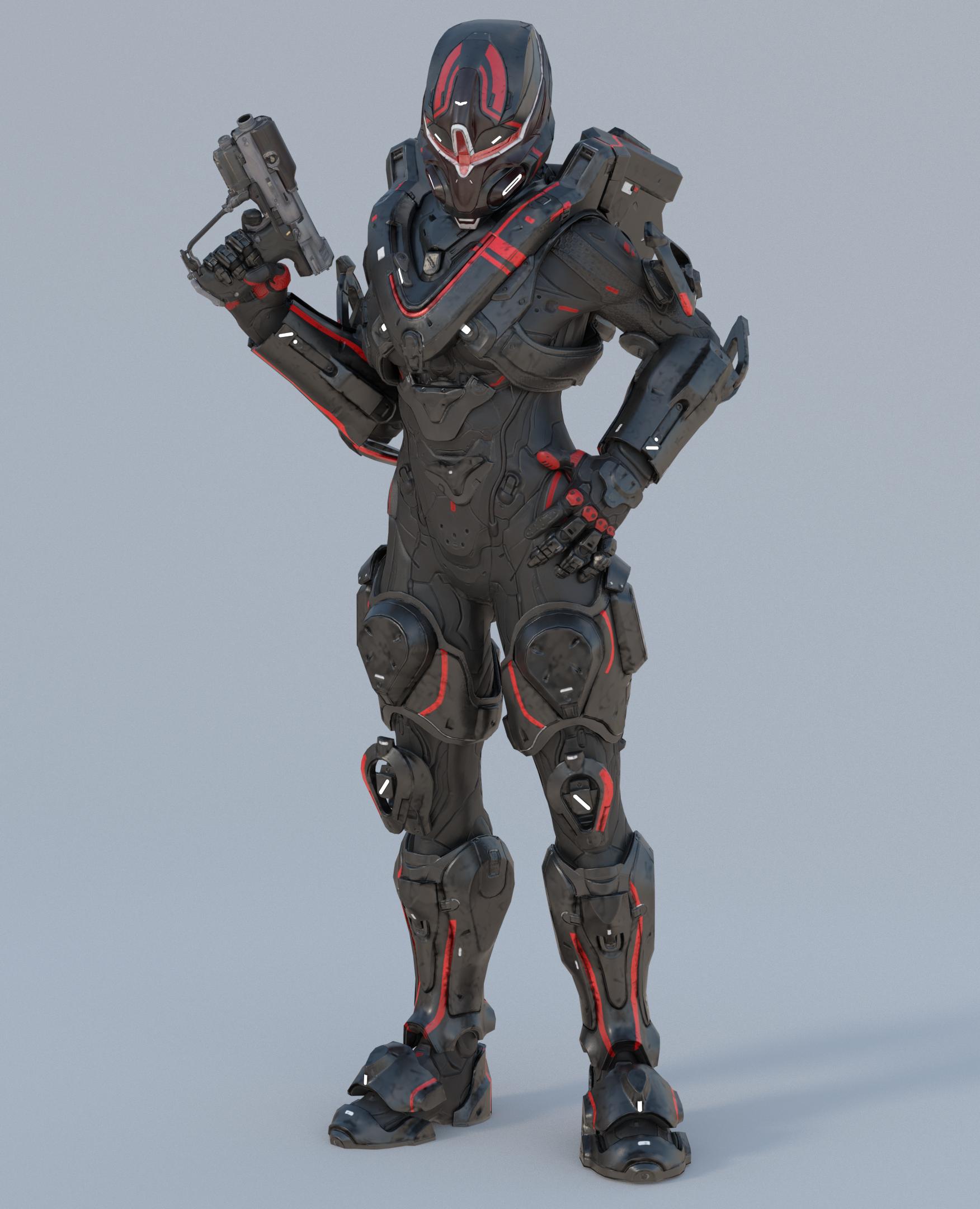 Spartan Ash 098 by UltimateKaiju on DeviantArt | Halo