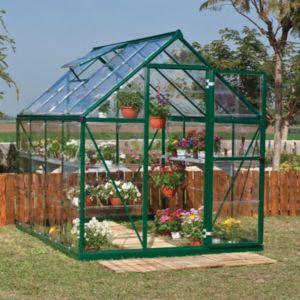 Palram Harmony 6x8 Polycarbonate Greenhousegreen Polycarbonate