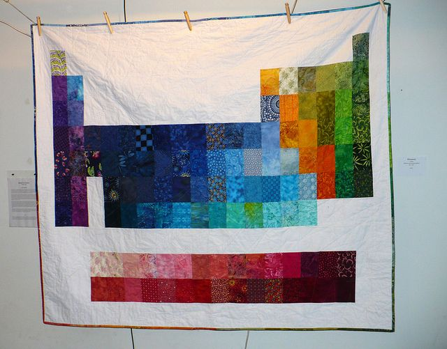 elemental periodic table of elements quilt flickr photo sharing - Periodic Table Of Elements Quilt