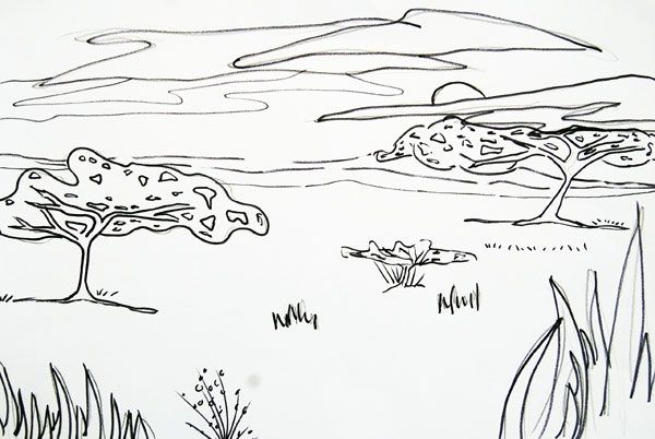 Coral Reef Fish, Coral Reef Fish Ecosystem Coloring Pages