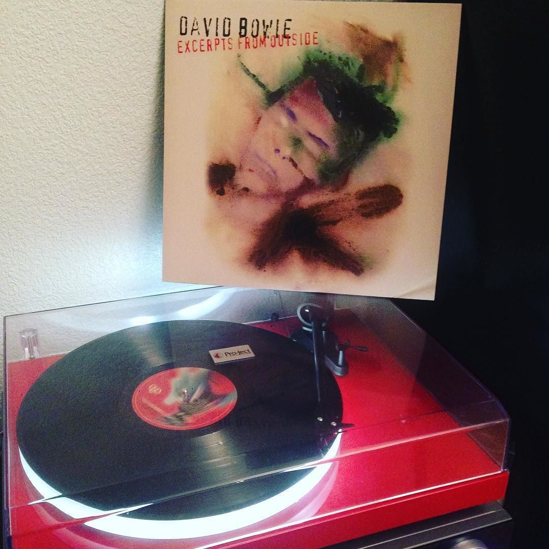 Vinylcnm On Instagram David Bowie Excerpts From Outside Best Songs Strangers When We Meet Hallo Spaceboy Strangers When We Meet Best Songs David Bowie