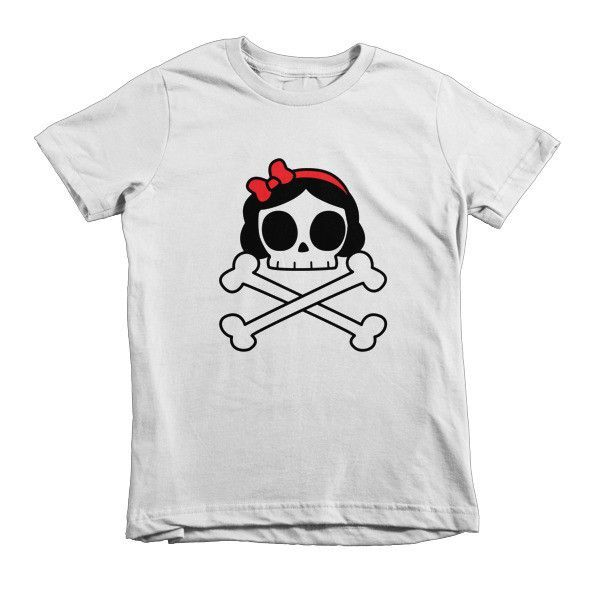 Snow White Crossbones Kids T-Shirt