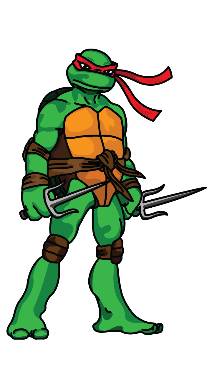 Raphael TMNT drawing tutorial: http://drawingmanuals.com ...