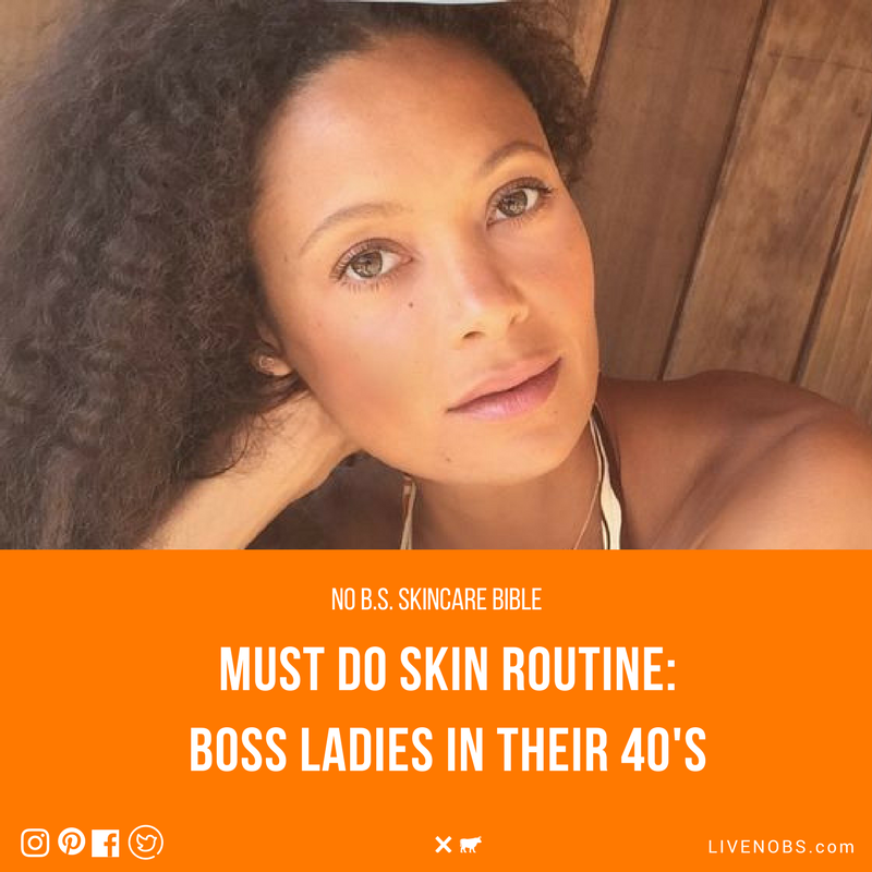 No B S Skincare Bible The Best Skincare Routine For Women In Their 40 S A Cheat Sheet For Every Step Of Y Skin Care Skin Care Routine Steps Dry Skin Routine