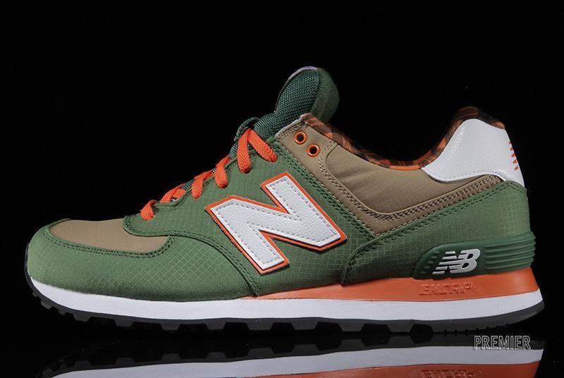 Acquistare new balance 574 green and orange