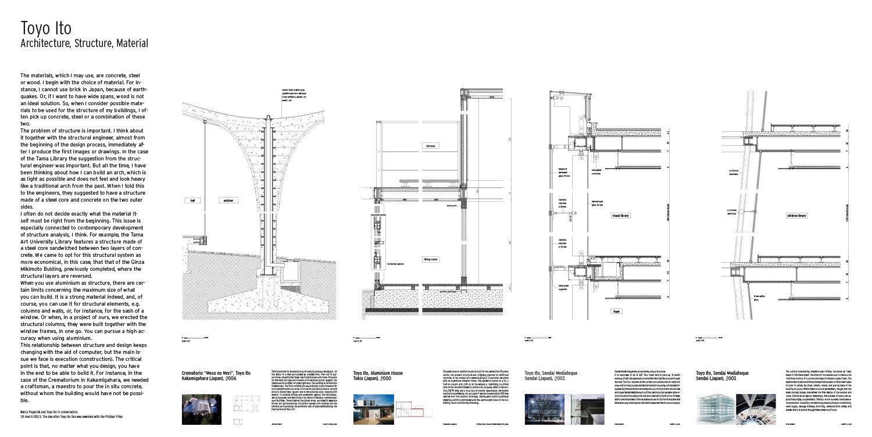 Toyo Ito Architecture Structure Material Architectural