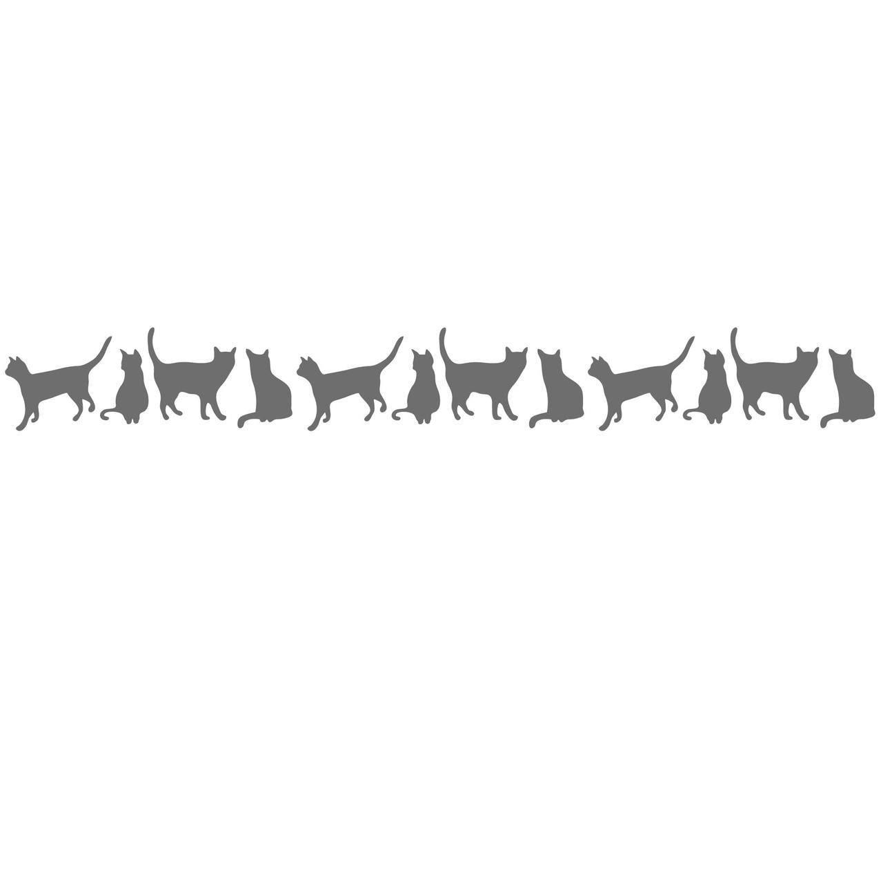 Download Free Cat Border Cut File | Scan & Cut | Pinterest ...
