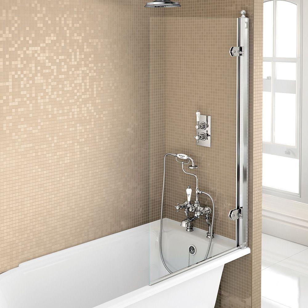 Bathroom Burlington Ideas bath screens   burlington bath screen - aluminium   bathroom