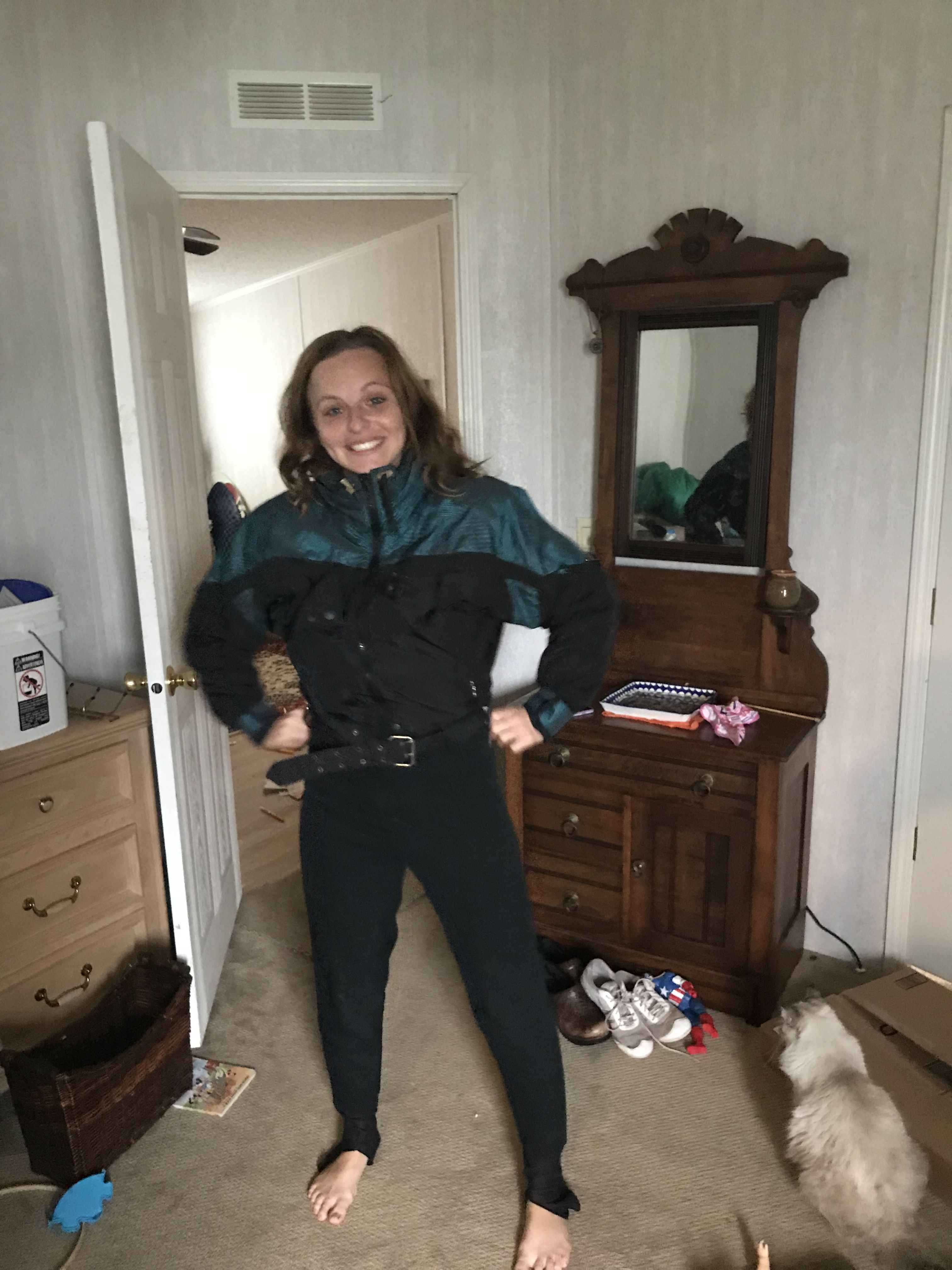 Vintage Ski Suit