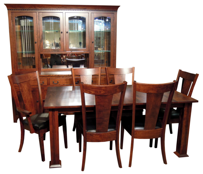 Amish Made Dining Room Sets  Home Design  Pinterest  Room Set Inspiration Dining Room Sets Solid Wood Decorating Inspiration