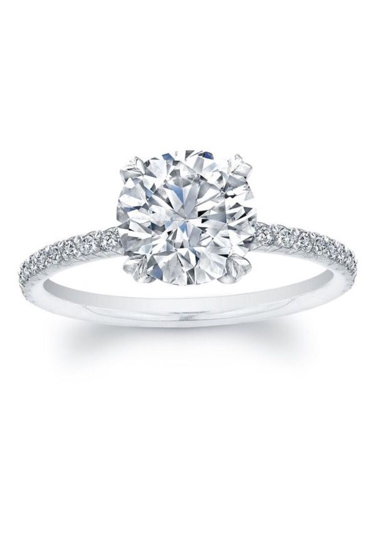 Solitare diamond engagement ring