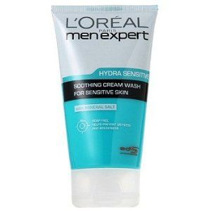 L Oreal Men Expert Hydra Sensitive Soothing Cream Wash With Mineral Salt For Sensitive Skin 150ml By L Best Natural Skin Care Natural Skin Natural Skin Care