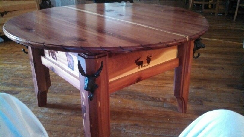 Coffee table i built my builds Pinterest - couchtische massivholz rotsen