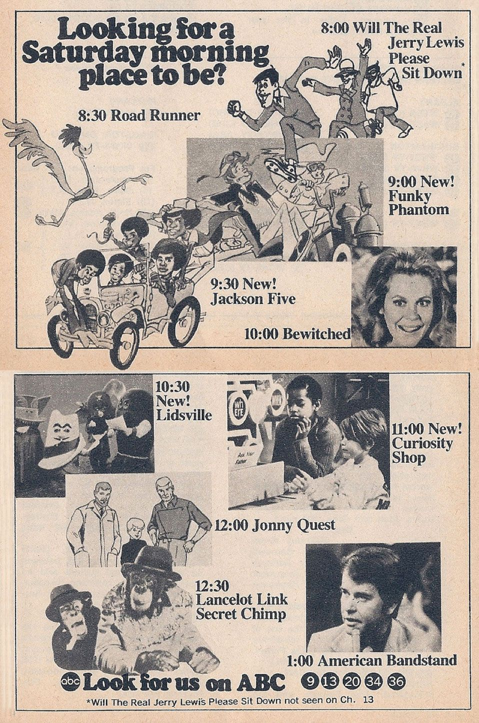 ABC Saturday Mornings 1971 Channel Surfing Pinterest
