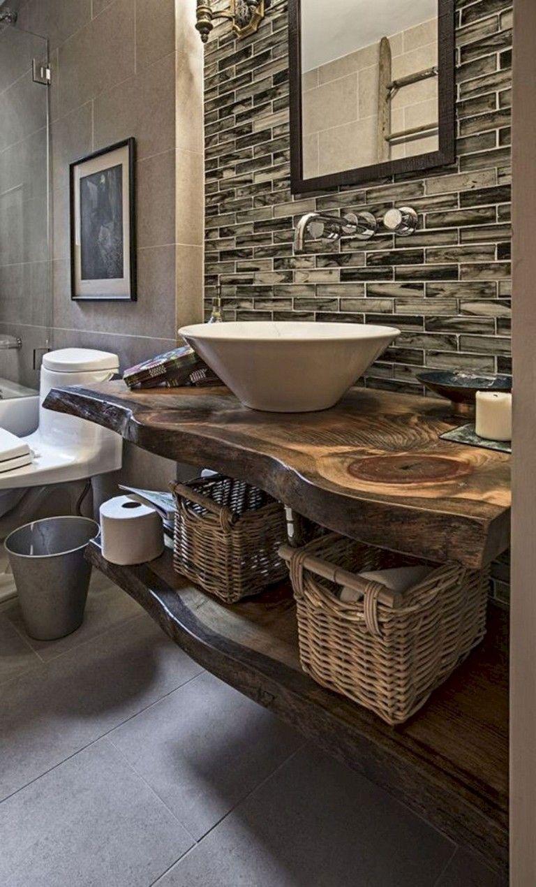 28 Awesome Modern Farmhouse Bathroom Vanity Ideas Bathroomdecor Bathrooms Bath Farmhouse Master Bathroom Modern Farmhouse Bathroom Farmhouse Bathroom Decor