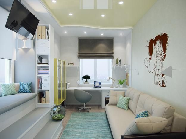 cool kids room decorating ideas and bright interior colors Kids