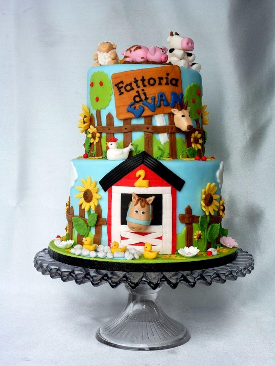 Animal Farm Cake Ffafarm Cakes Pinterest Farming Cake And Animal