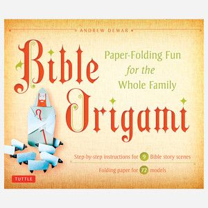 Bible Origami Kit, $15.50, now featured on Fab.