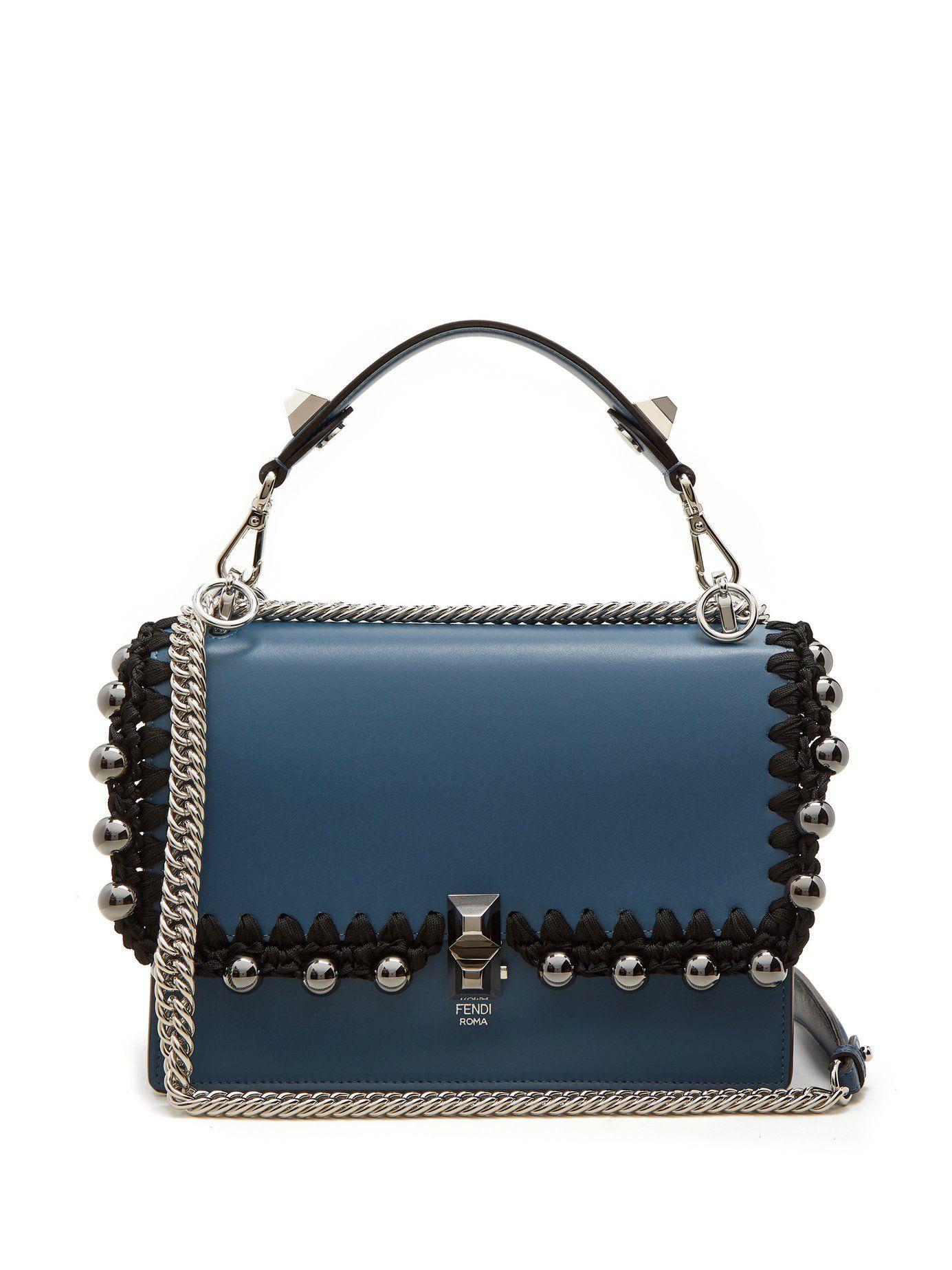 93fa9883dfb5 Kan I leather shoulder bag | Fendi | MATCHESFASHION.COm Shared by Career  Path Design