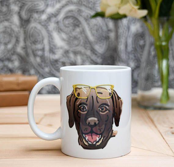Brown Labrador Coffee Mug