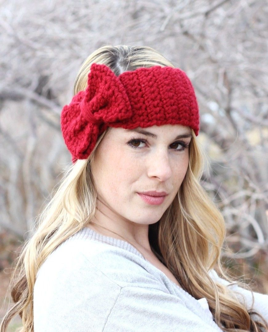 Crochet Headband @Kendall Slotte AHHHH!@@!!!!!!!! | You fancy huh ...