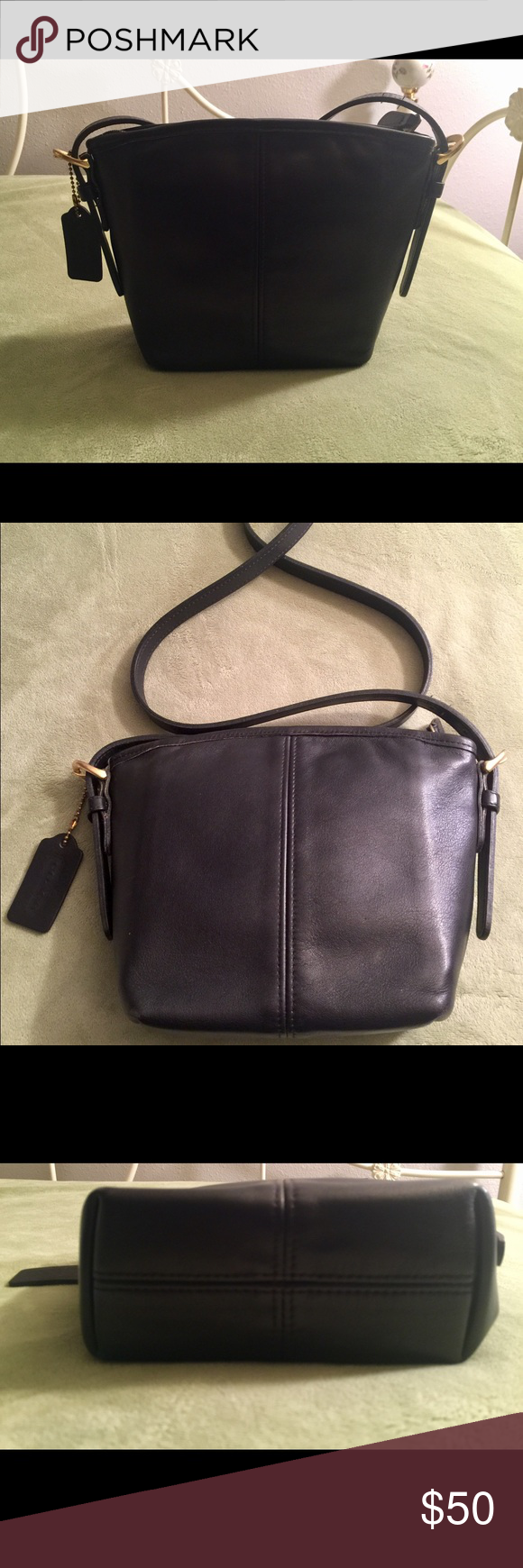 Spotted while shopping on Poshmark  Authentic Vintage Coach 4107 Soft Leather  Purse!  poshmark  fashion  shopping  style  Coach  Handbags 52dbc19e34