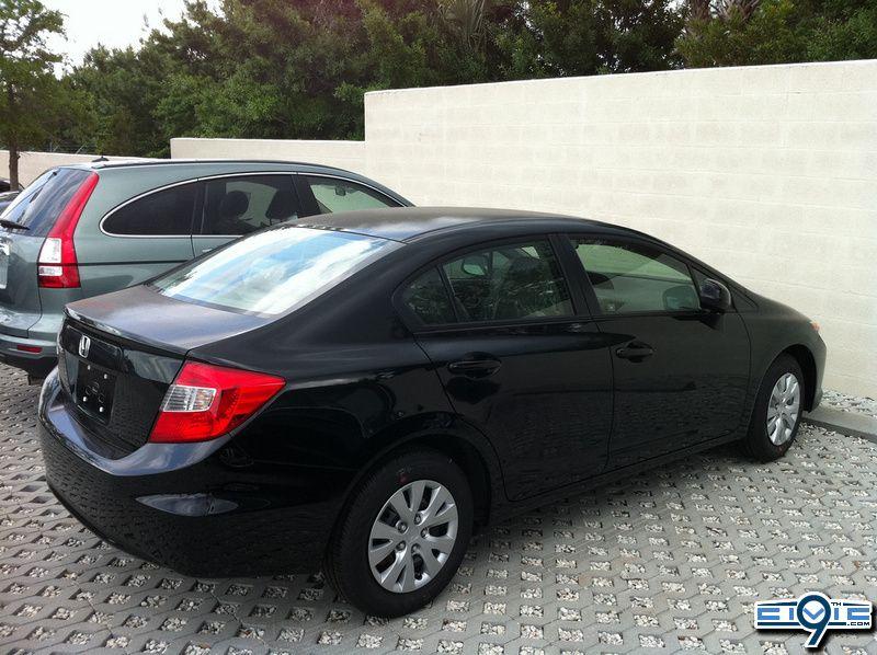 Beau 2012 Honda Civic Sedan   Crystal Black Pearl