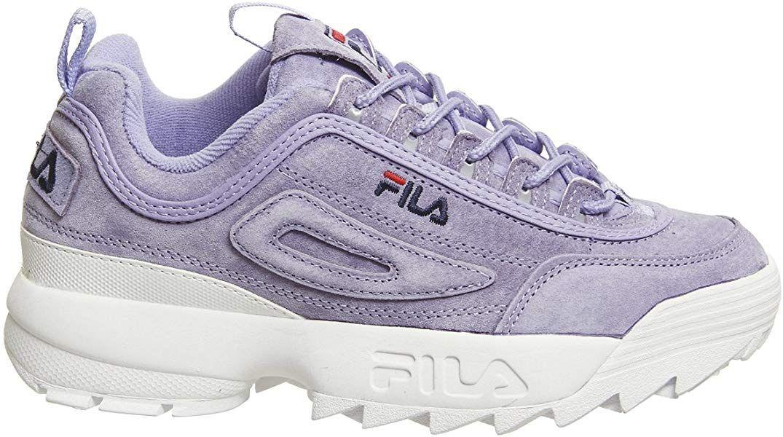 Fila Disruptor II Premium 5FM00038 522 Suede Womens Trainers