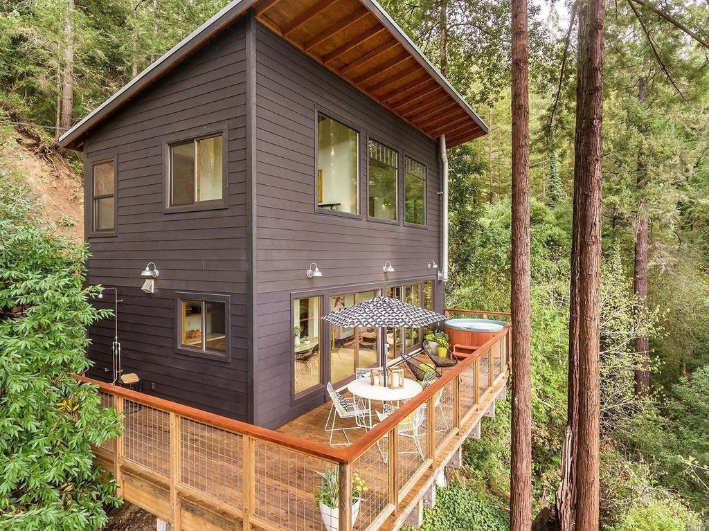 Russian River Cabin 845 Square Feet Cabin Home In