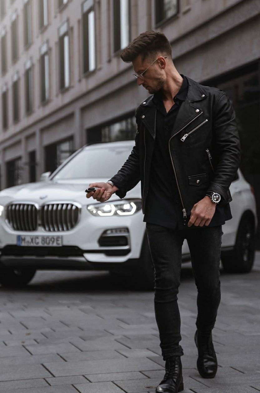 Pin By Wade Benjamin On My Style Leather Jacket My Style Fashion [ 1260 x 833 Pixel ]