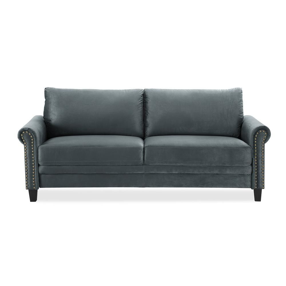 Lifestyle Solutions Dark Grey Ashford Collection Sofa In 2019