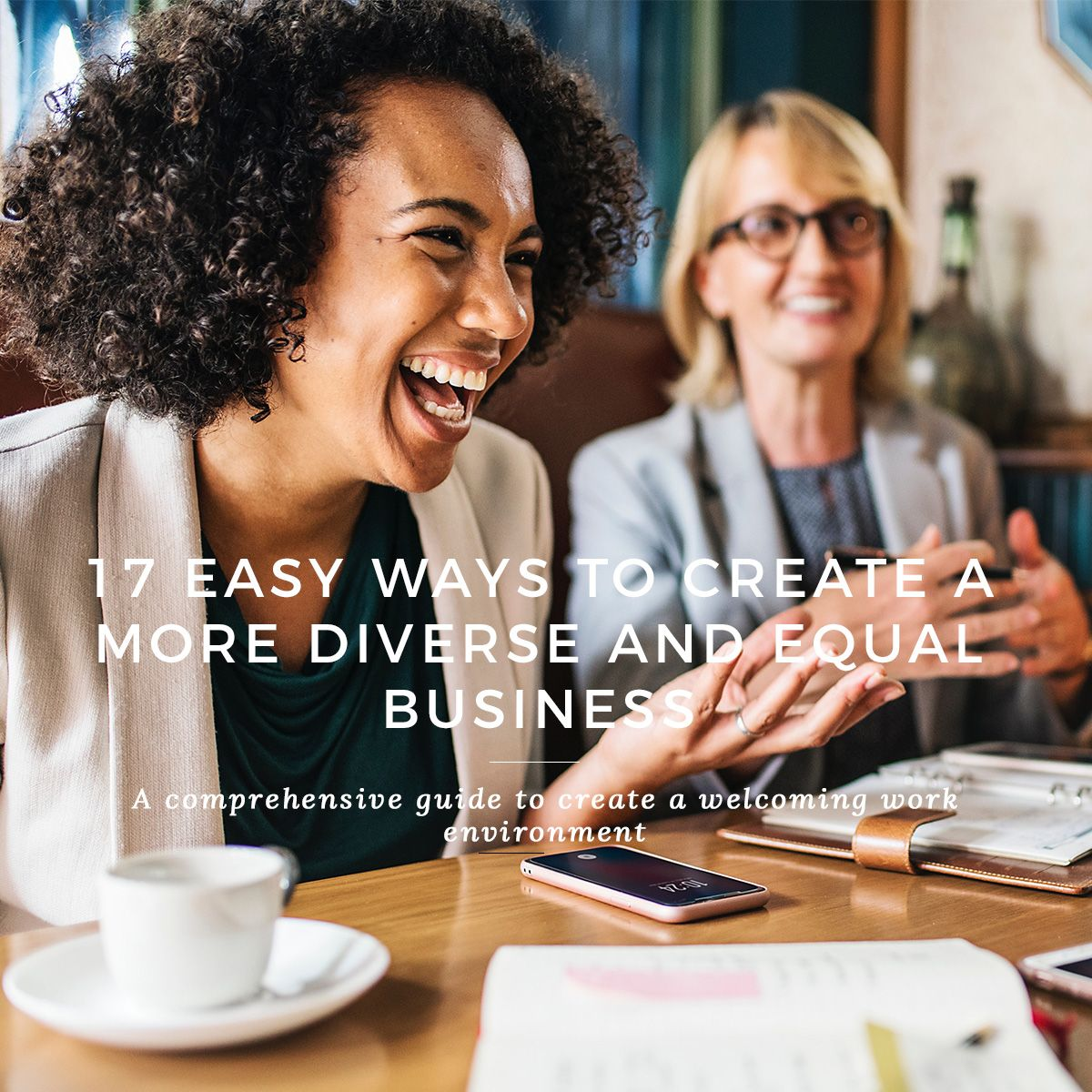 Easy More Comprehensive: 17 EASY WAYS TO CREATE A MORE DIVERSE AND EQUAL BUSINESS