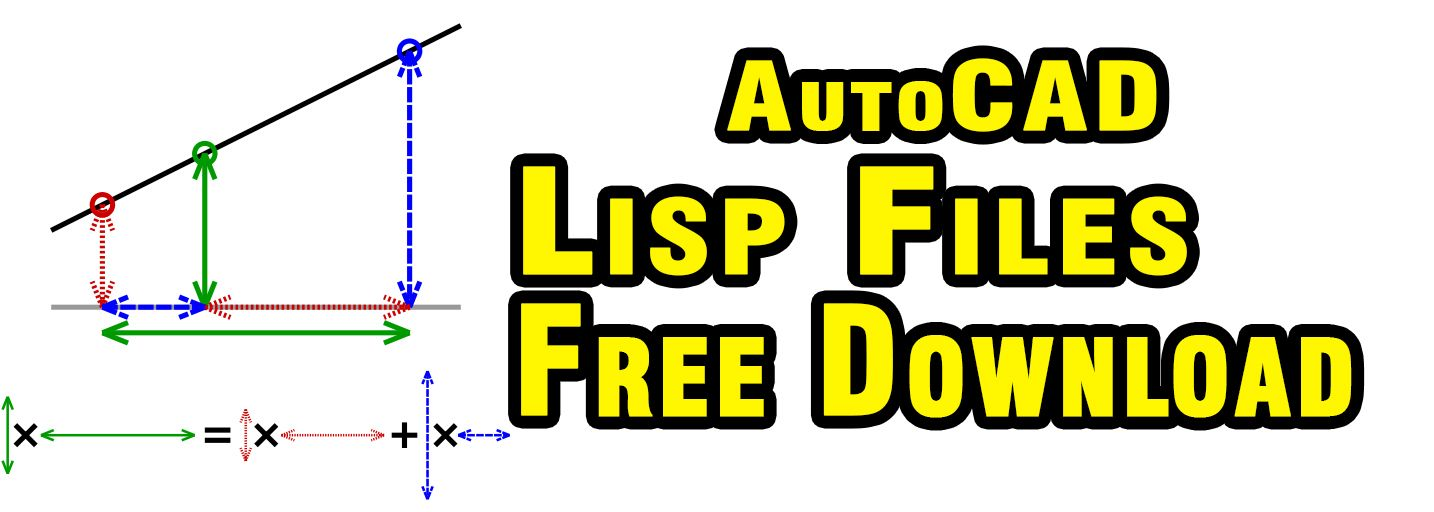 download free lisp files, free cad tips and tricks, free