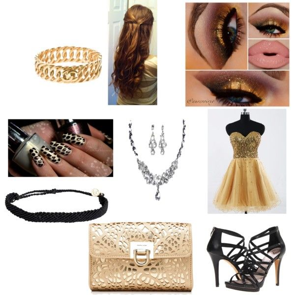 Sem título #326 by vera-go on Polyvore featuring Vince Camuto, Forever New, Pura Vida and Chanel
