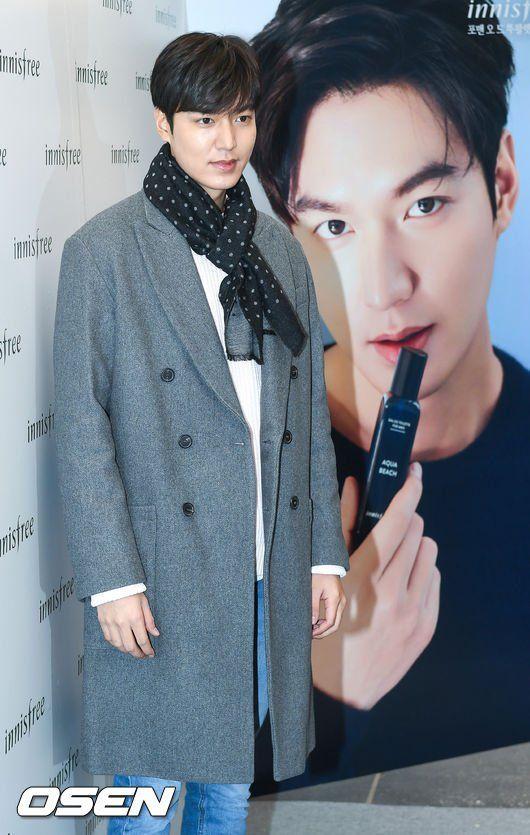 Lee Min Ho for Innisfree🌿 10.02.2017