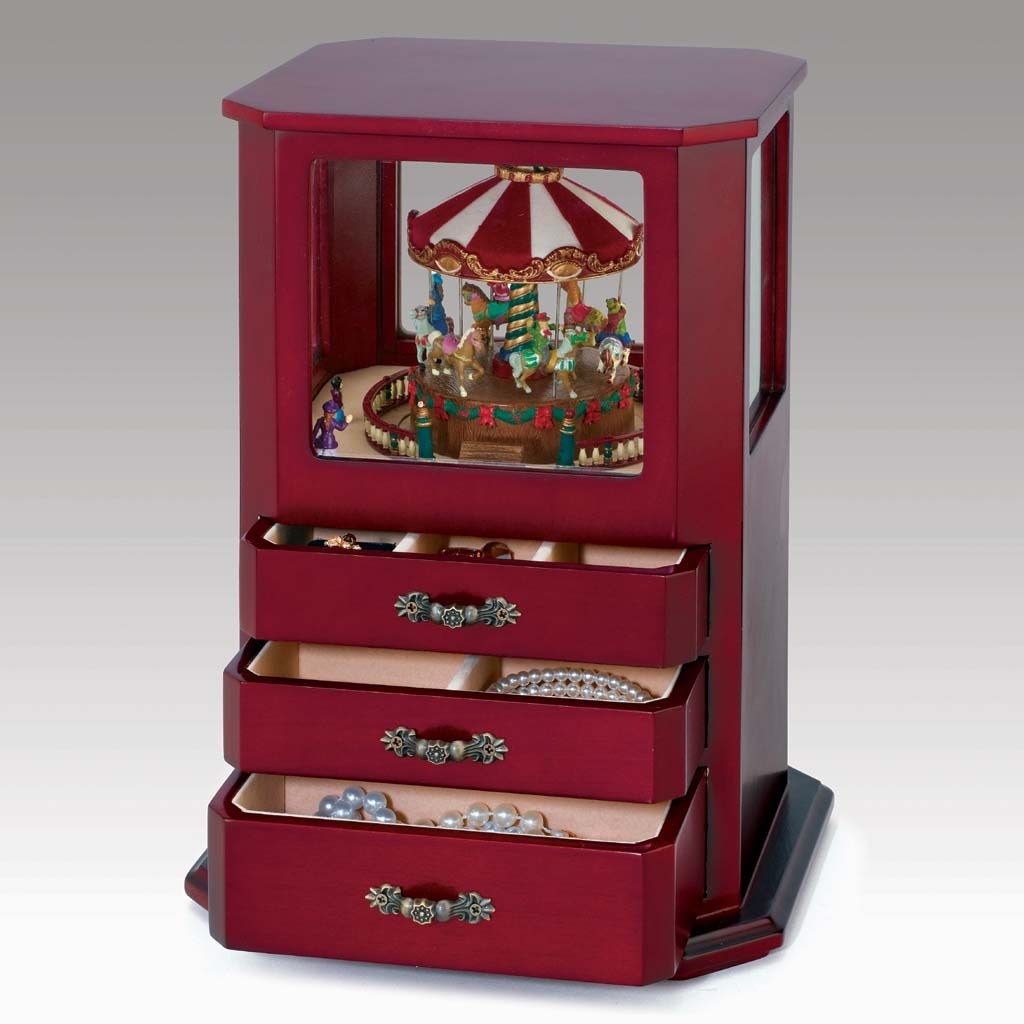 Jewelry Box Carousel The Home of Jewelry Pinterest Carousel