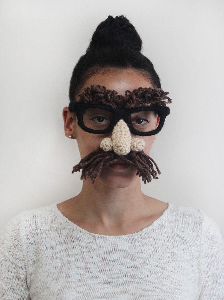 Crafty Disguise Pattern (Crochet)   Crochet - Costumes   Pinterest