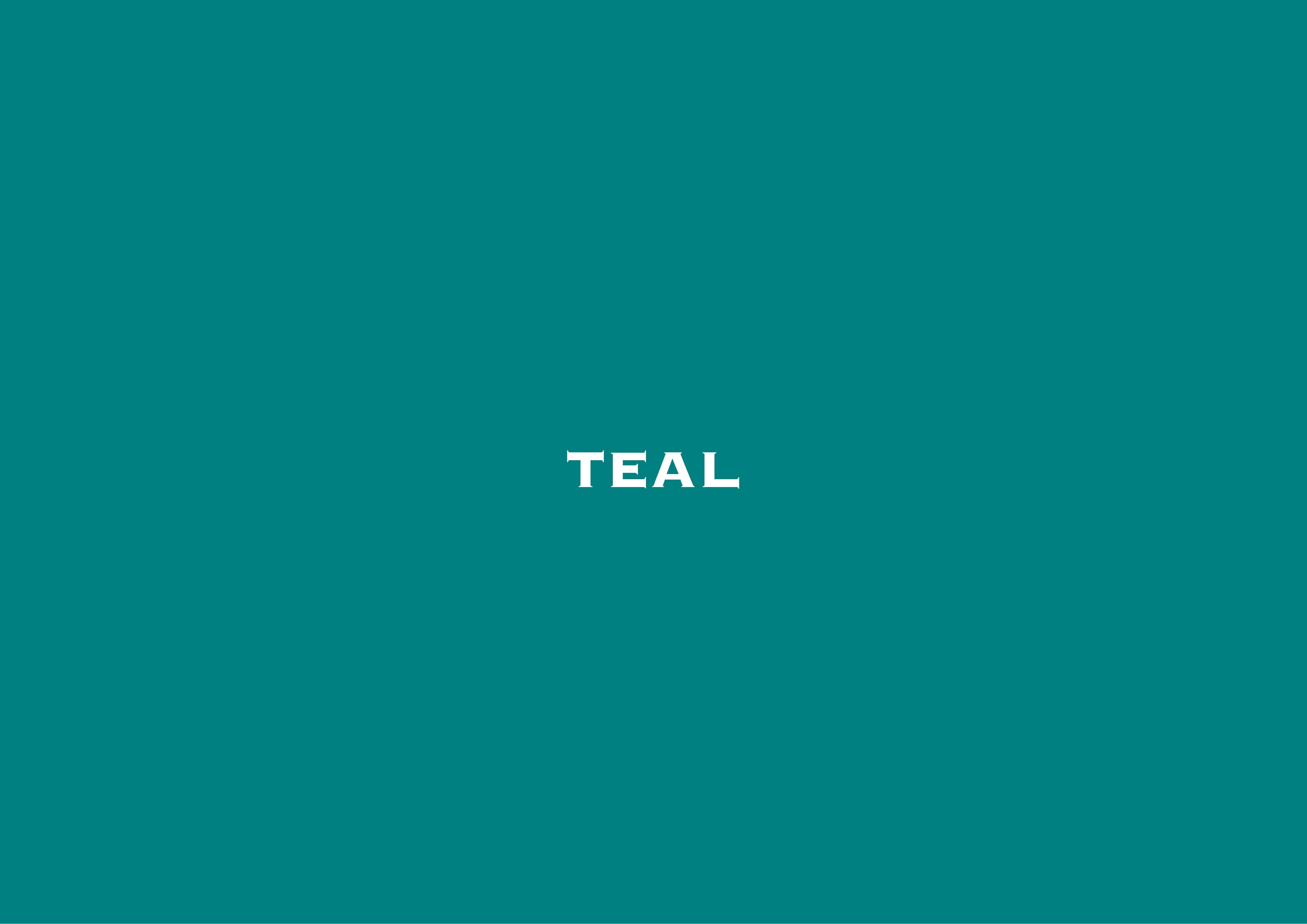 Decorating With the Colour Teal