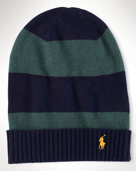 Striped Knit Hat - Polo Ralph Lauren Hats - RalphLauren.com