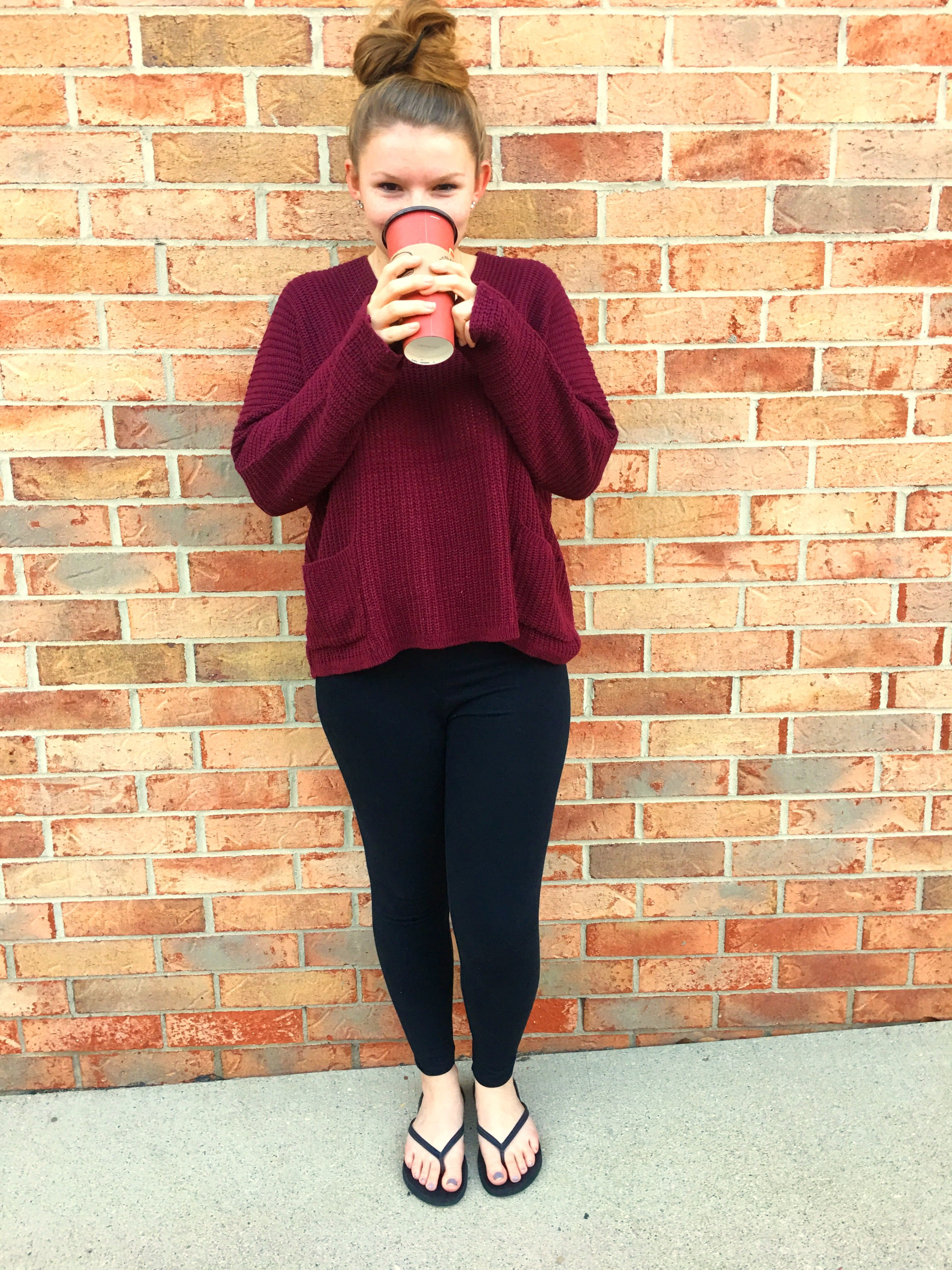 Fall is here!!! You know what that means? Sweaters, leggings and hot chocolate! Check out my full blog post here: http://allthingskaylee.com/index.php/2016/10/04/fall-days/