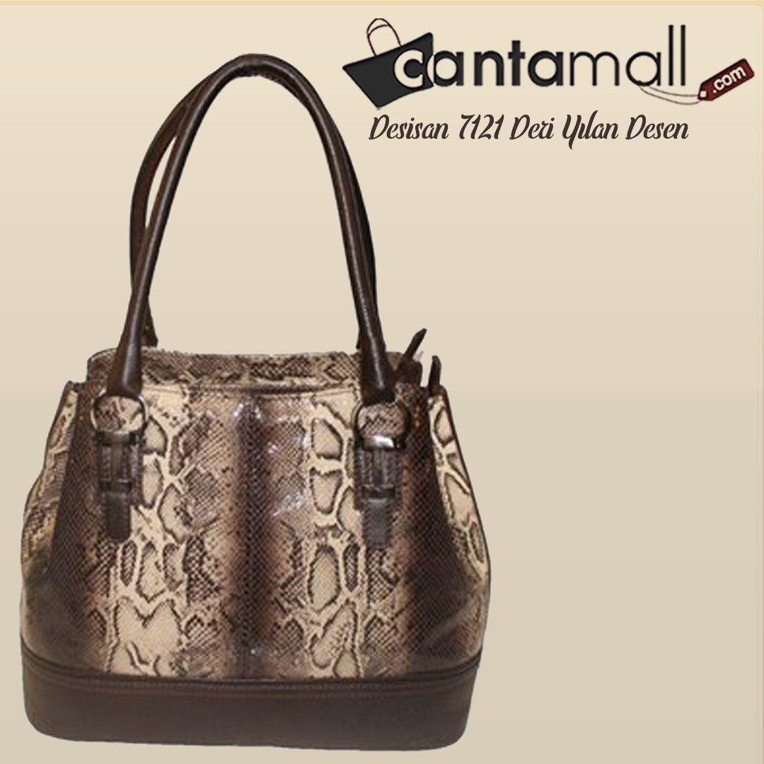 3f1bb6f1771cc Desisan 7121 Deri Yılan Desen | Kadın Omuz Çantaları | Bags, Fashion ...