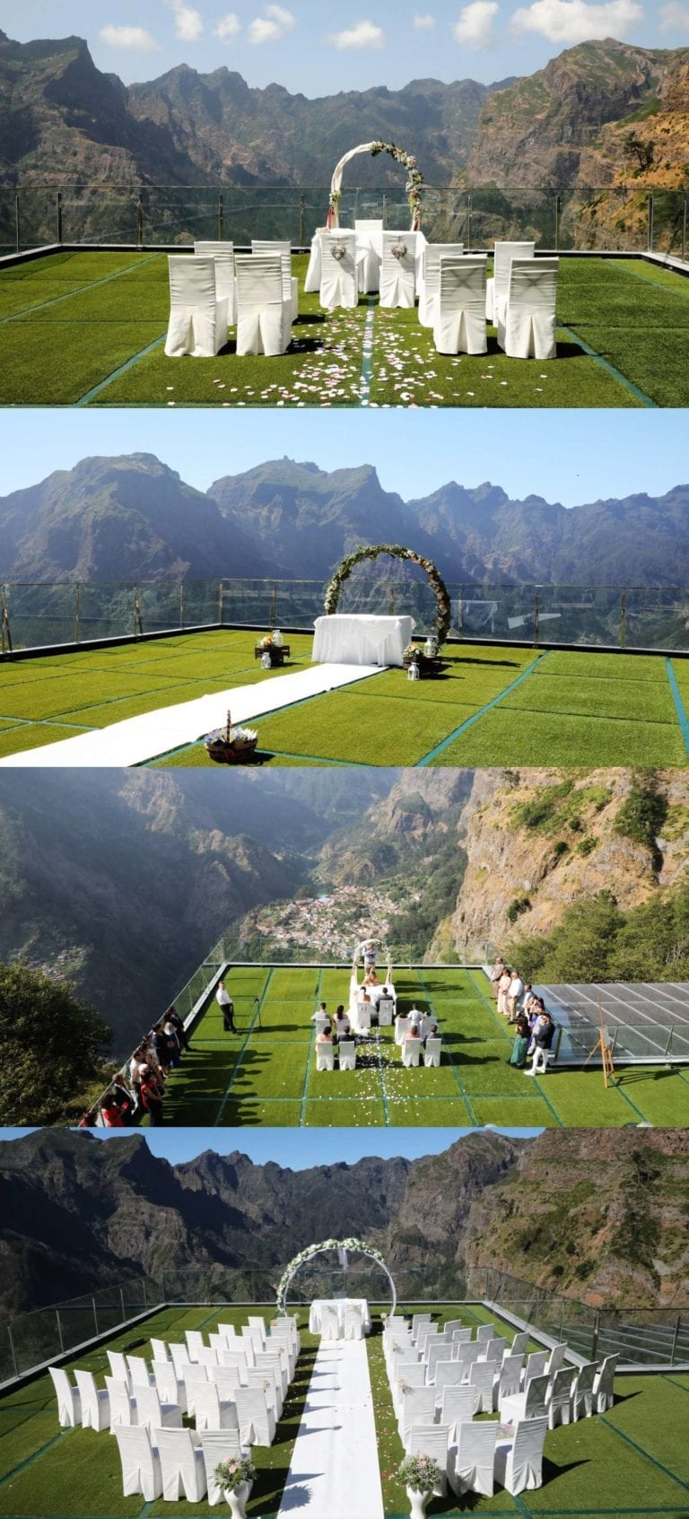Wedding venues in Madeira: Magnificent mountain venue ...